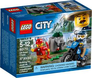 LEGO LEGO 60170 City La poursuite en moto tout-terrain 673419280259