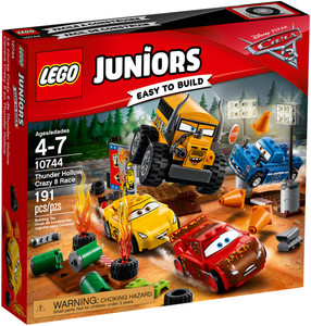 LEGO LEGO 10744 Juniors La course Crazy 8 de Thunder Hollow, Les Bagnoles 3 673419266826