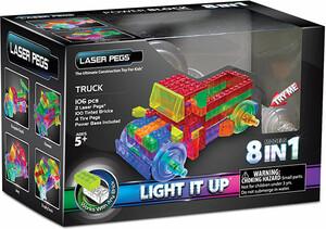 Laser Pegs - briques illuminées Laser Pegs camion 8 en 1 (briques illuminées) 810690020581