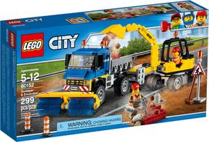 LEGO LEGO 60152 City Le déblayage du chantier 673419264303