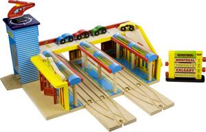 acheter train en bois gare centrale belv d re jouet joubec acheter jouets et jeux au qu bec. Black Bedroom Furniture Sets. Home Design Ideas