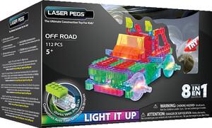 Laser Pegs - briques illuminées Laser Pegs camion hors route 8 en 1 (briques illuminées) 810690021533