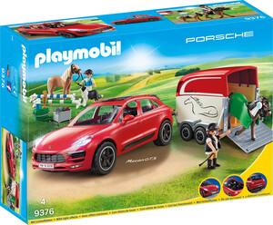 Playmobil Playmobil 9376 Porsche Macan GTS avec remorque 4008789093769