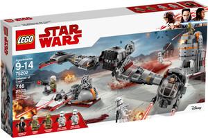 LEGO LEGO 75202 Star Wars La défense de Crait 673419281706