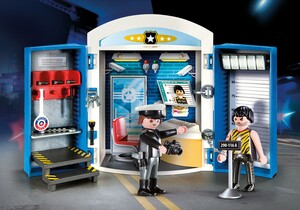 Playmobil Playmobil 70306 Coffret Commissariat de police (janvier 2021) 4008789703064