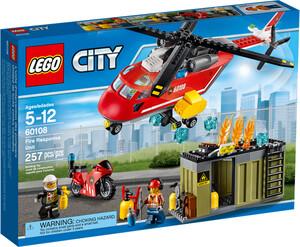 LEGO LEGO 60108 City L'unité de secours des pompiers (jan 2016) 673419247870