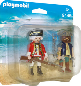 Playmobil Playmobil 9446 Duo Pirate et soldat 4008789094469