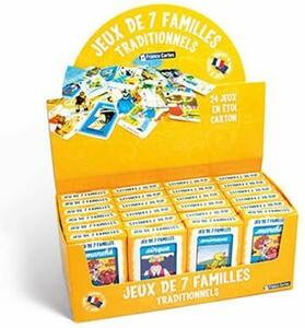 France Cartes 7 familles - traditionnel (fr) 3114524024446