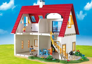Acheter playmobil 4279 maison de ville villa moderne for Casa moderna playmobil 5574
