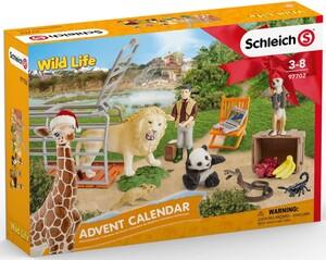 Schleich Schleich 97702 Calendrier de l'Avent vie sauvage (Wild Life) 4055744021114