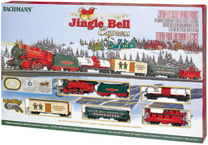acheter train lectrique jingle bell express ho scale bachmann joubec acheter jouets et. Black Bedroom Furniture Sets. Home Design Ideas