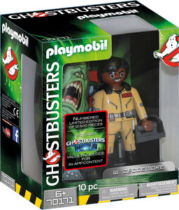 Playmobil Playmobil 70171 SOS Fantômes Édition collectionneur W. Zeddemore (Ghostbusters) 4008789701718