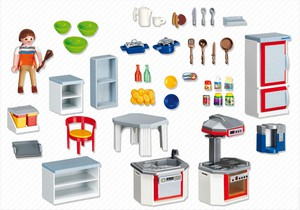 acheter playmobil 4283 cuisine avec fourniture joubec acheter jouets et jeux au qu bec et. Black Bedroom Furniture Sets. Home Design Ideas