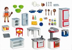 Acheter playmobil 4283 cuisine avec fourniture joubec for Acheter cuisine en ligne