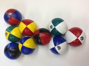 Mister Babache Balle à jongler à grains 130g blanche/jaune *