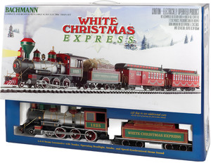 acheter train lectrique white christmas express large scale bachmann joubec acheter. Black Bedroom Furniture Sets. Home Design Ideas