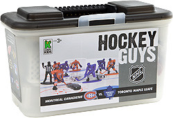 Kaskey Kids Hockey figurines LNH Canadiens de Montréal vs Maple Leafs de Toronto et patinoire (NHL) 054682050068