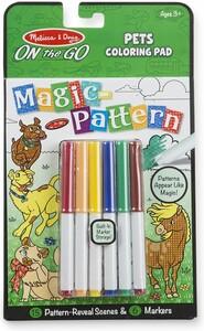 Melissa & Doug Magic-Pattern à motif à révéler animaux de compagnie de voyage Melissa & Doug 30311 000772403115
