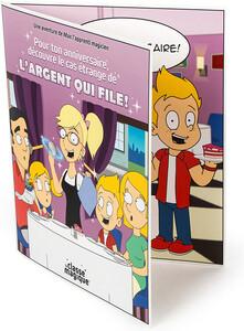 La Classe magique Carte Souhaits Magique L'argent qui file (Restaurant) 061272193371