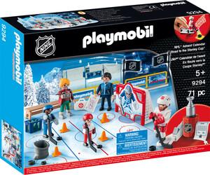 Calendrier L Avent Playmobil.Playmobil 9294 Calendrier De L Avent Lnh En Route Vers La Coupe Nhl