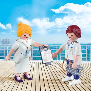 Playmobil Playmobil 9216 Duo Hôte et hôtesse de croisière 4008789092168