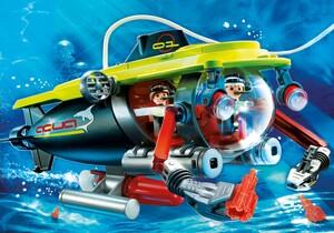 acheter playmobil 4909 sous marin avec moteur submersible. Black Bedroom Furniture Sets. Home Design Ideas