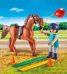 Playmobil Playmobil 9259 Écuyère avec cheval 4008789092595