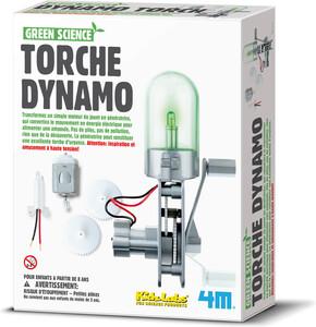 4m Science torche dynamo, lampe de poche 057359885727