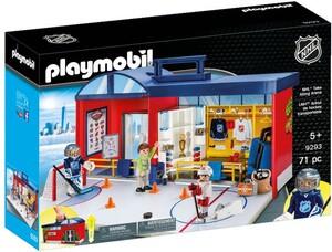 Playmobil Playmobil 9293 LNH Aréna de hockey transportable (NHL) 4008789092939