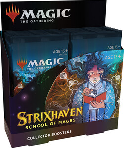 Wizards of the Coast mtg strixhaven collector booster Box 630509958863