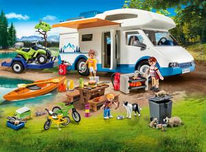 Playmobil Playmobil 9318 Aventure au camping, autocaravane (véhicule récréatif) 4008789093189