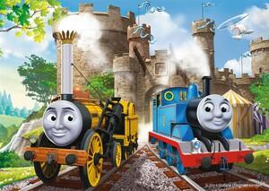 Ravensburger Casse-tête 100 XXL Thomas le roi du chemin de fer (en) 4005556105366