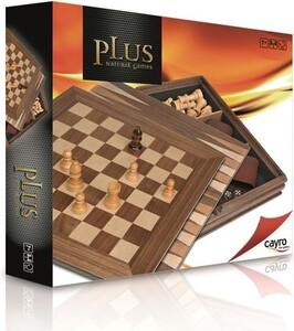 Cayro Jeu d'échecs et backgammon en bois 32x32cm 8422878616022