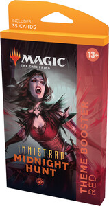 Wizards of the Coast mtg Innistrad Midnight Hunt Theme Booster red *
