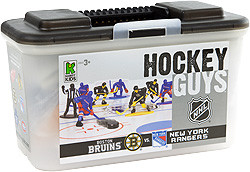 Kaskey Kids Hockey figurines LNH Rangers de New York vs Bruins de Boston et patinoire (NHL) 054682050075