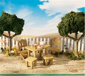 Acheter calico critters meubles de patio rustique sans for Liquidation meubles patio