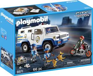 Playmobil Playmobil 9371 Fourgon blindé avec convoyeurs de fonds 4008789093714