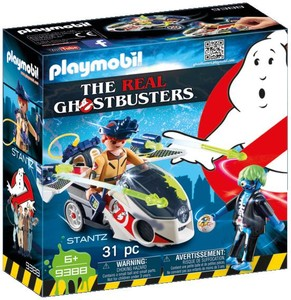 Playmobil Playmobil 9388 SOS Fantômes Stantz avec véhicule volant (Ghostbusters) 4008789093882