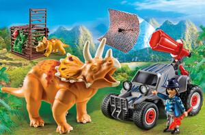 Playmobil Playmobil 9434 Bandit avec tricératops 4008789094346