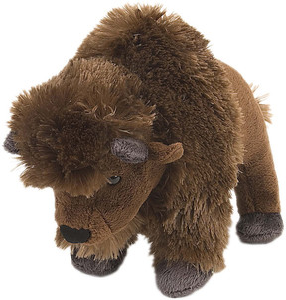 Wild Republic 21133 Bison 20 cm Animaux Sauvages Doudou Peluche Wild Republic