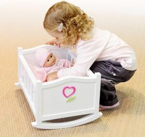 acheter corolle mon premier b b poup e lit bascule berceau 30 cm joubec acheter jouets et. Black Bedroom Furniture Sets. Home Design Ideas
