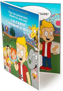La Classe magique Carte Souhaits Magique La carte trompe-l'oeil (Zoo) 061272193364