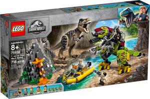 Jurassic Contre 75938 Dinosaure World Combat Robot Lego Le TRex Du qSzGUMVp