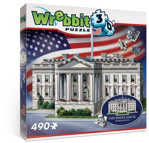 Wrebbit Casse-tête 3D La Maison-Blanche, Washington, district de Columbia, États-Unis (490pcs) 665541010071