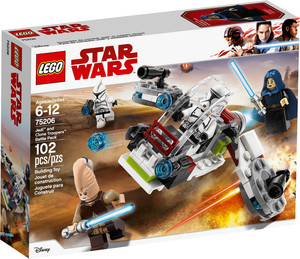 LEGO LEGO 75206 Star Wars Ensemble de combat Jedi et soldats clones 673419281737