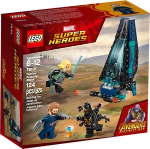 LEGO LEGO 76101 Super-héros L'attaque du vaisseau des Outriders, Avengers la guerre de l'Infini 673419282017