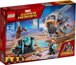 LEGO LEGO 76102 Super-héros La quête de l'arme de Thor, Avengers la guerre de l'Infini 673419282000