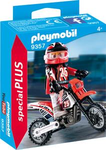 Playmobil Playmobil 9357 Pilote de motocross 4008789093578