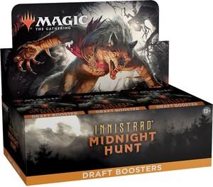 Wizards of the Coast mtg Innistrad Midnight Hunt draft booster Box 630509986453