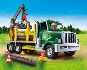 Playmobil Playmobil 9115 Camion porte-billots de bois (grumier) 4008789091154